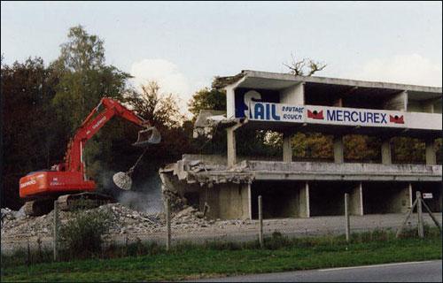 Печальный конец трассы в Руане. Фото из архива Эрика Шнейдера