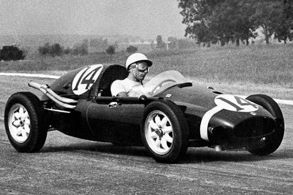 Стирлинг Мосс на Гран При Аргентины 1958 года