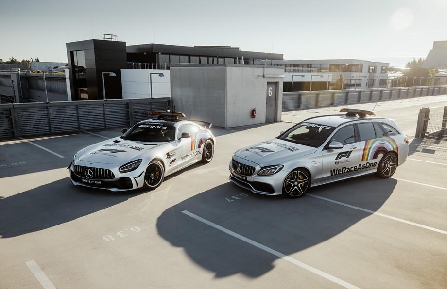 Mercedes-AMG GT R и Mercedes-AMG C 63 S Estate